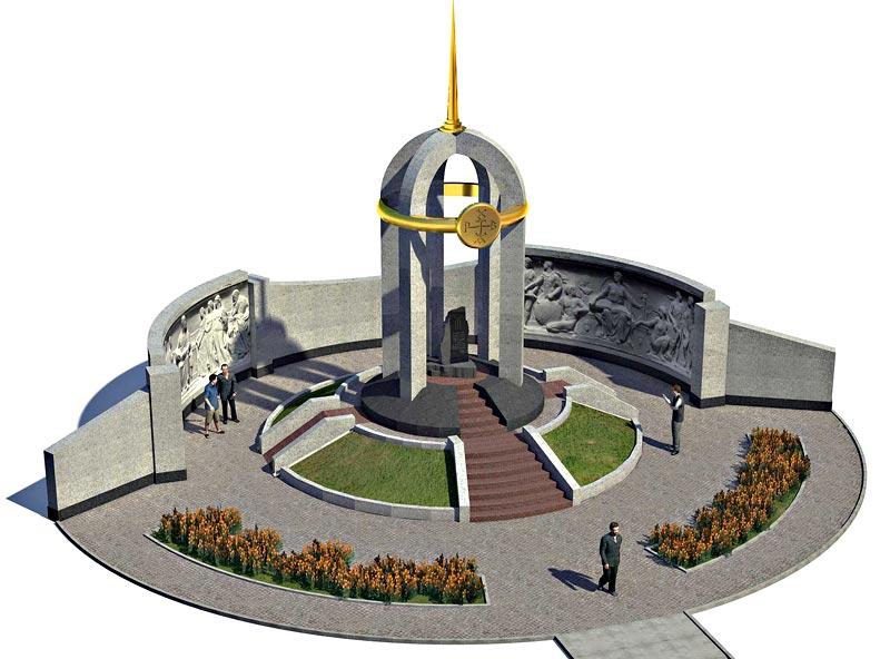 мемориалния комплекс на могилата на Кан Кубрат