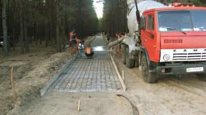 Изграждане на пътека до мемориалния комплекс
