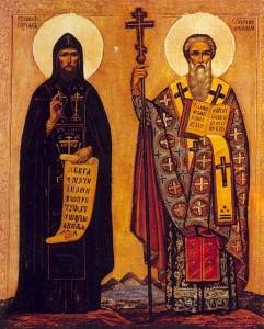 святые равноапостольные братья Кирилл и Мефодий - 24 мая - день славянской письмености