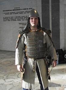 Конференция археологов в Ульяновске. Булгарским воином
