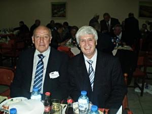 ПЕТЪР КОНСТАНТИНОВ (вляво на снимката), Иван Серт (вдясно) по време на сесията на Световния Парламента на Асоциацията на българите по света - 2010 г. в гр. Варна