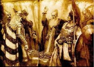Вождовете на древните българи